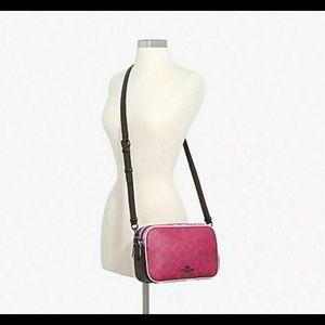 Coach Bags - Coach Jes Crossbody Bag Signature PVC & Leather